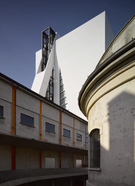 Fondazione Prada, uno scorcio.