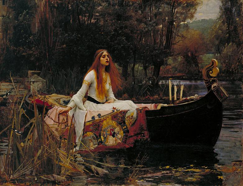 John William Waterhouse, The Lady of Shalott