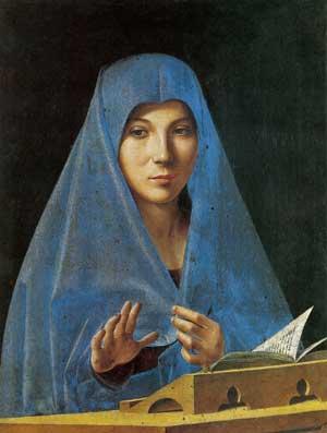 Antonello da Messina, Annunciata, 1475