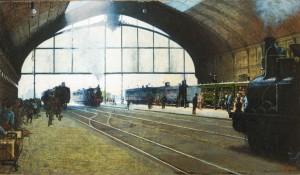 Morbelli-la Stazione-Centrale di Milano, 1889