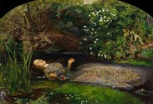 Sir John Everett Millais, Ophelia, 1851-52