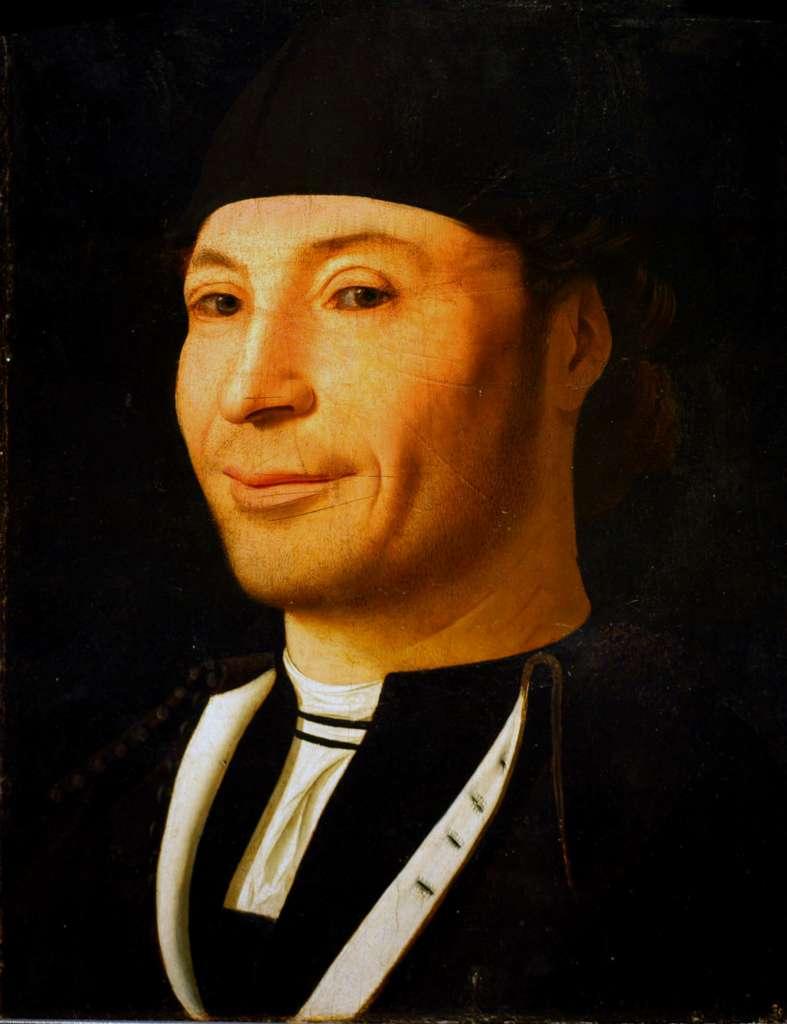 Antonello da Messina, Ritratto d'uomo, 1465-1476 ca.