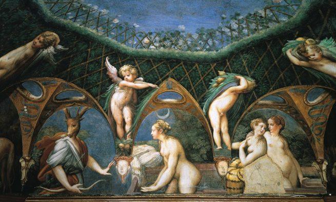Gli affreschi del Parmigianino nella Rocca di Sanvitale, Fontanellato