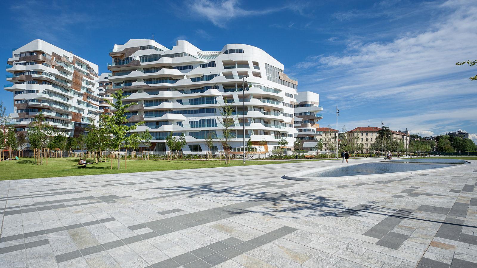 Il complesso residenziale Zaha Hadid