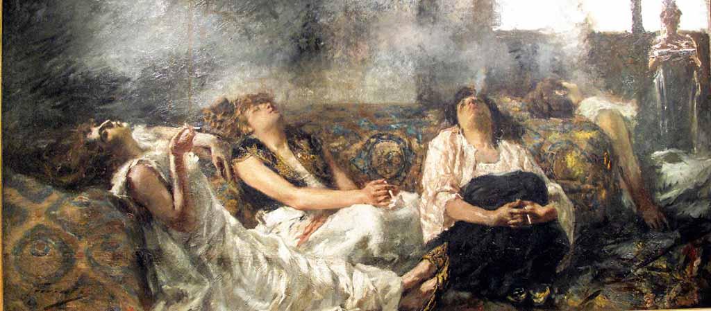 Gaetano Previati, Le fumatrici di hashish