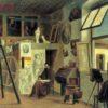 Fra Camillo Kaiser, Autoritratto nello studio