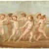 Giuseppe Bossi, Danza di putti, inizio XIX secolo. Tempera e olio su carta. Milano, Castello Sforzesco, Gabinetto dei Disegni